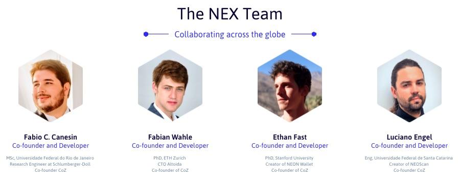 nex team ico