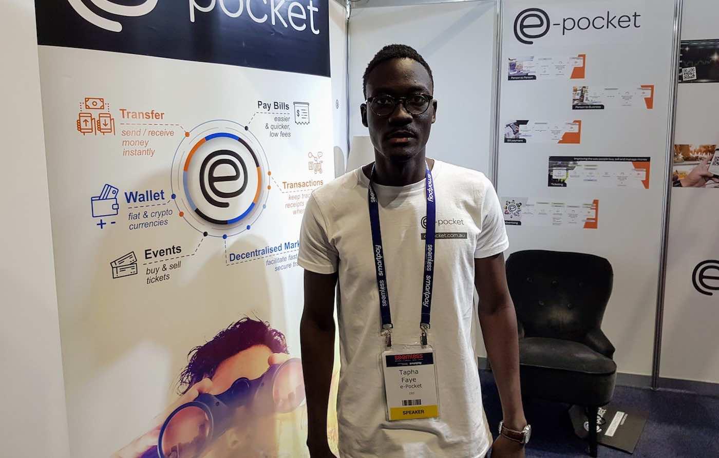 Tapha Faye, CEO of e-Pocket